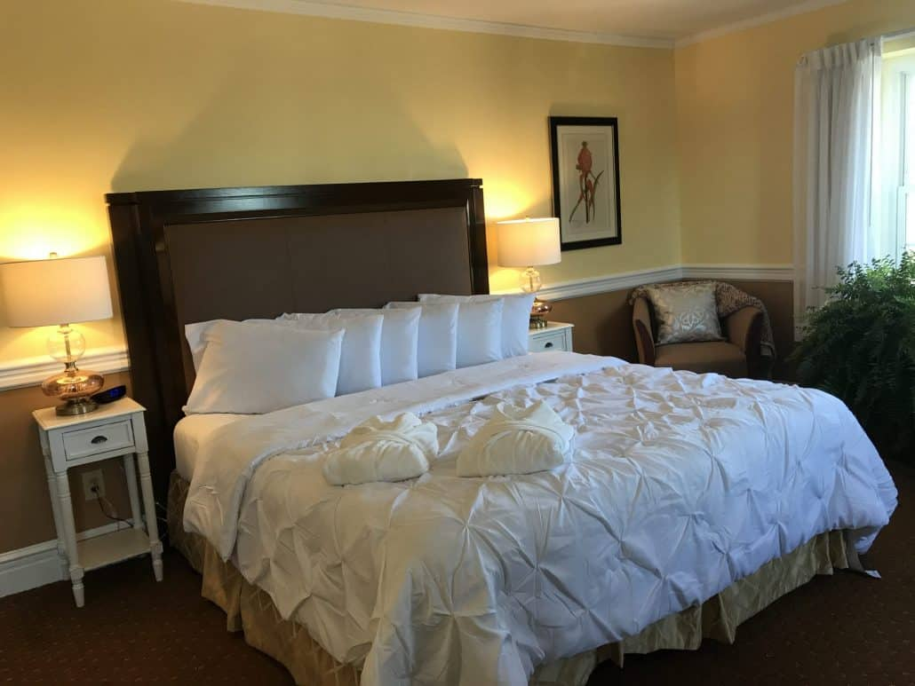 Guest Room for Stay and Play Package Golf Offering